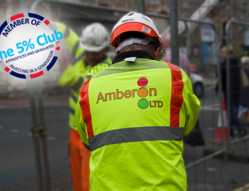 Amberon commits to 'earn and learn' by joining The  5% Club
